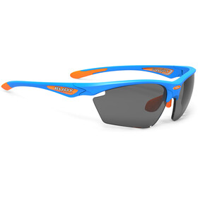 Rudy Project Stratofly Okulary rowerowe, azure - rp optics black